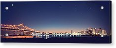 New Orleans Skyscape Acrylic Print by Ray Devlin
