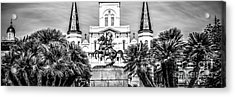 New Orleans St. Louis Cathedral Panorama Photo Acrylic Print