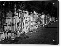 New Orleans St Louis Cemetery No 3 Acrylic Print by Christine Till