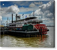 New Orleans - Steamboat Natchez 001 Acrylic Print by Lance Vaughn
