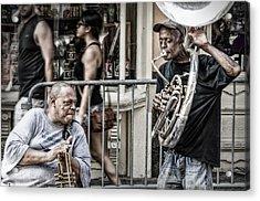 New Orleans Street Jam Acrylic Print