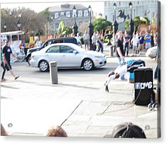 New Orleans - Street Performers - 121214 Acrylic Print