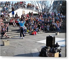 New Orleans - Street Performers - 12123 Acrylic Print by DC Photographer