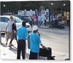 New Orleans - Street Performers - 12124 Acrylic Print by DC Photographer