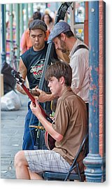 New Orleans Street Trio Acrylic Print