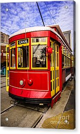 New Orleans Streetcar  Acrylic Print by Paul Velgos