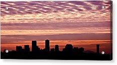 New Orleans Sunrise Acrylic Print by Renee Barnes