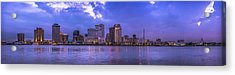 New Orleans Sunset Acrylic Print by David Morefield