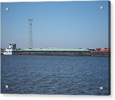 New Orleans - Swamp Boat Ride - 121227 Acrylic Print