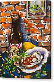 Acrylic Print featuring the painting New Orleans Treats by Dianne Parks