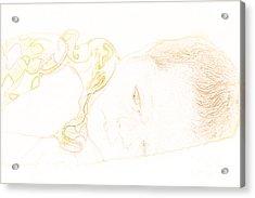 Baby Girl Too Acrylic Print