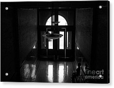 New Photographic Art Print For Sale Bradbury Building 12 Downtown La Acrylic Print by Toula Mavridou-Messer