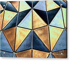 Pop Art Abstract Art Geometric Shapes Acrylic Print