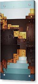 New Pueblo 1 Acrylic Print by David Hansen