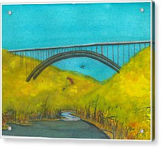 New River Gorge Bridge On Bridge Day Acrylic Print