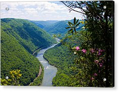 New River View Acrylic Print