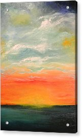 Acrylic Print featuring the painting New Sky 2013 by Tamara Bettencourt
