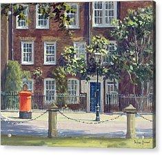New Square, Lincolns Inn Oil On Canvas Acrylic Print