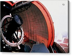 New Technology Telescope At La Silla Acrylic Print by David Parker/science Photo Library