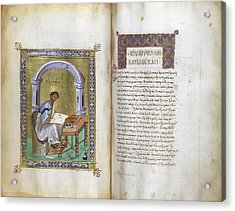 New Testament Acrylic Print by British Library