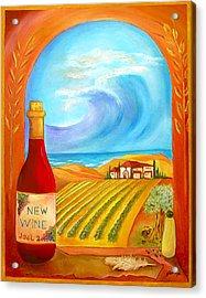 New Wine  Joel 2 Acrylic Print