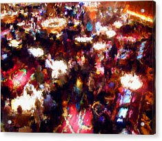 New Years Eve Gaming Acrylic Print