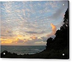 New Year's Sunset Acrylic Print by Tim McKusick