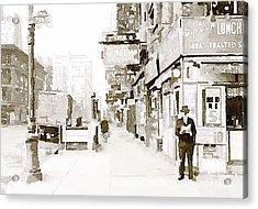 New York 1940 Acrylic Print