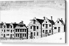 New York Albany, 1791 Acrylic Print by Granger