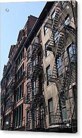 New York Apartments  Acrylic Print
