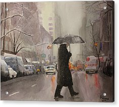New York Chill Acrylic Print