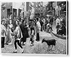 New York Chinatown, 1896 Acrylic Print by Granger