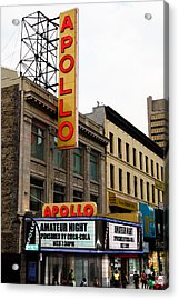 New York City - Apollo Theater  Acrylic Print by Russell Mancuso