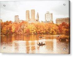 New York City - Autumn - Central Park Acrylic Print by Vivienne Gucwa