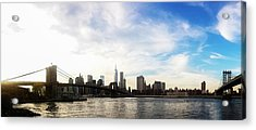 New York City Bridges Acrylic Print