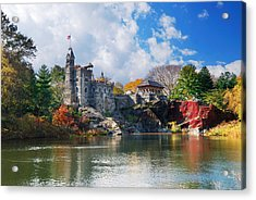 New York City Central Park Belvedere Castle Acrylic Print