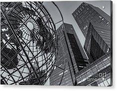 New York City Columbus Circle Landmarks II Acrylic Print