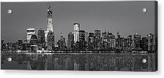 New York City Acrylic Print by Eduard Moldoveanu