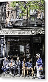 New York City Faces - Another Look Acrylic Print