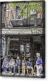 New York City Faces Acrylic Print
