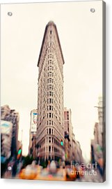 New York City Flatiron Building Acrylic Print by Kim Fearheiley