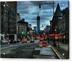 New York City - Greenwich Village 014 Acrylic Print by Lance Vaughn