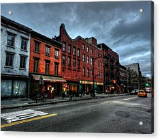 New York City - Greenwich Village 016 Acrylic Print by Lance Vaughn