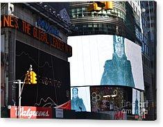 new York City III Acrylic Print by Robert Daniels