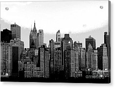 New York City Acrylic Print by Kathleen Struckle