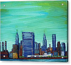 New York City Midtown Acrylic Print by Mitchell McClenney