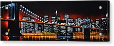 New York City Panaroma Acrylic Print