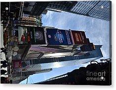 New York City Acrylic Print by Robert Daniels