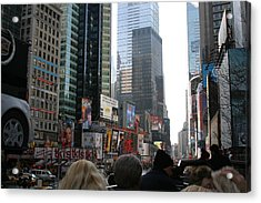 New York City - Sights Of The City - 12121 Acrylic Print by DC Photographer