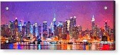 New York City - Skyline 0 Acrylic Print